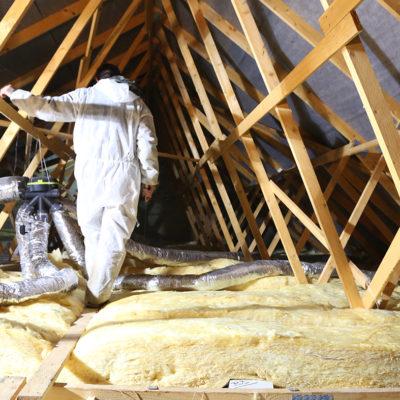 isolation du plafond et du sol